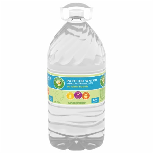 Comforts™ Purified Water Perspective: front