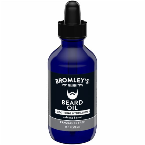 Bromley's™ for Men Soothing Hydration Fragrance Free Beard Oil Perspective: front