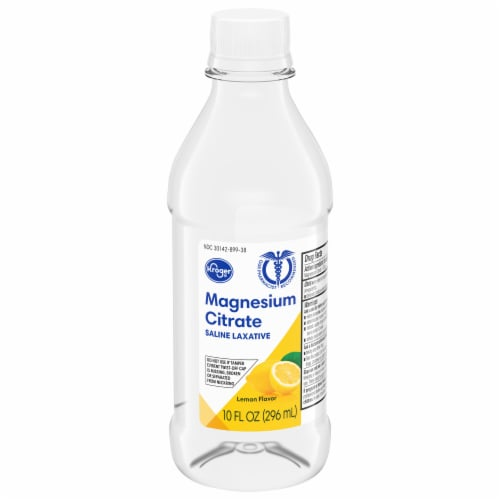Kroger® Lemony Flavor Magnesium Citrate Saline Laxative Perspective: front