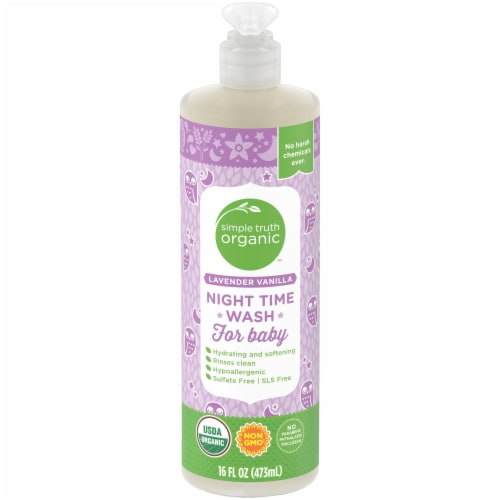 Simple Truth Organic™ Lavender Vanilla Baby Wash Perspective: front