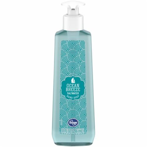 Kroger® Ocean Breeze Saltwater Hand Soap Perspective: front