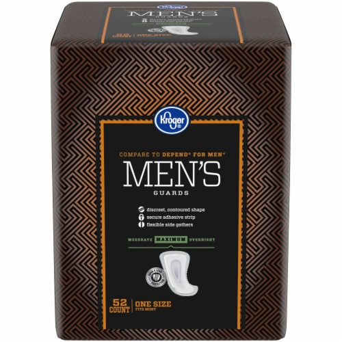 Kroger® Maximum Strength Men's Guards Perspective: front