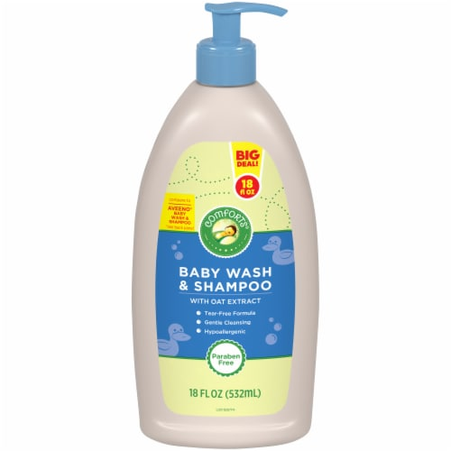Comforts™ Baby Wash & Shampoo Perspective: front