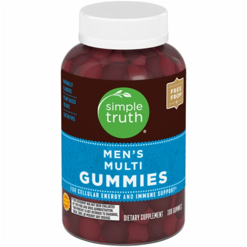 Simple Truth™ Men's Multi Gummies Perspective: front
