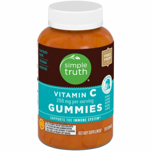 Simple Truth™ Vitamin C Gummies 250mg Perspective: front