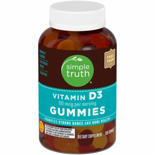 Simple Truth™ Vitamin D3 Gummies 50mcg Perspective: front