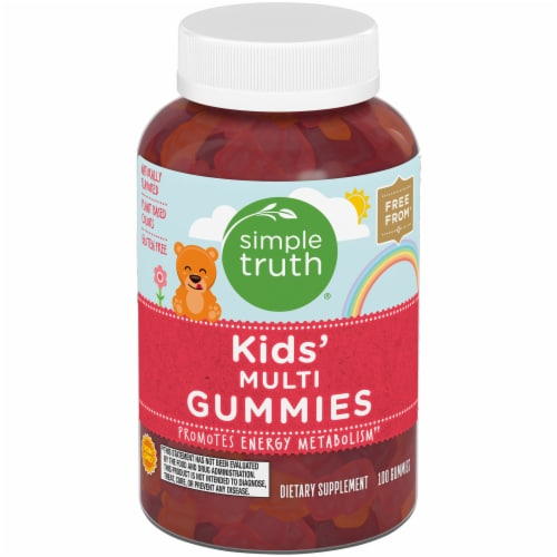 Simple Truth™ Kid's Multivitamin Gummies 100 Count Perspective: front