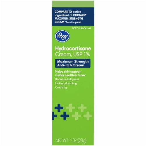 Kroger Hydrocortisone Cream Perspective: front