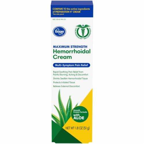 Kroger® Hemorrhoidal Cream Perspective: front