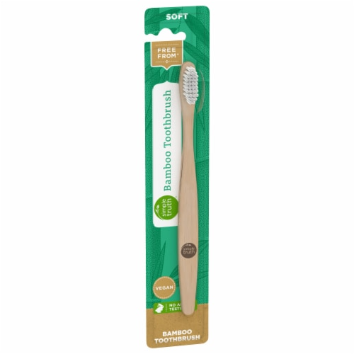 Simple Truth™ Soft Bamboo Toothbrush Perspective: front