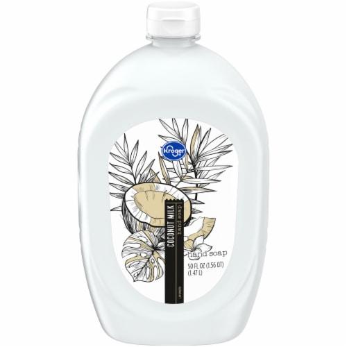 Kroger Coconut Milk Liquid Handsoap Refill Perspective: front