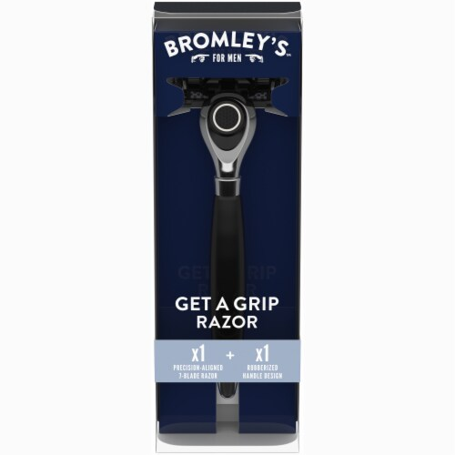 Bromley's™ For Men Get a Grip Razor Perspective: front