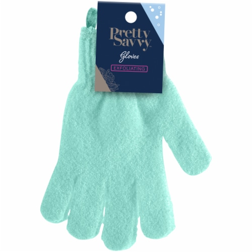 Pretty Savvy Exfoliating Gloves Perspective: front