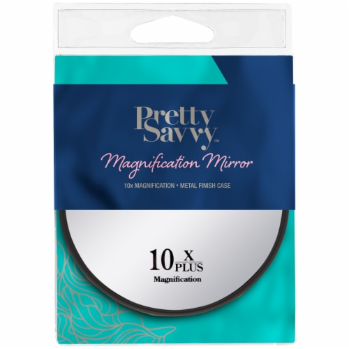 Pretty Savvy Magnification Mirror Perspective: front