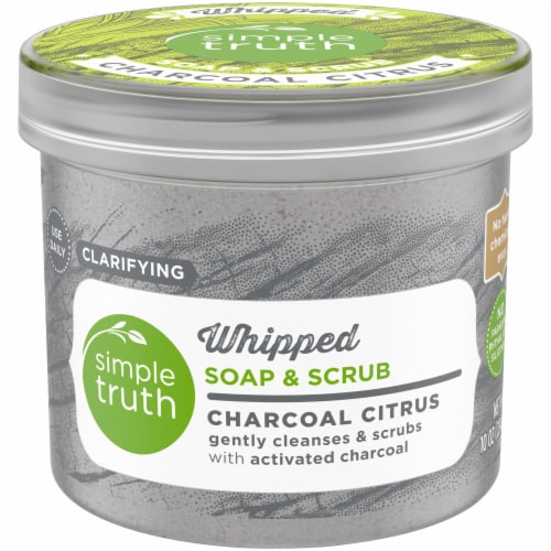 Simple Truth™ Charcoal Citrus Whipped Soap & Scrub Perspective: front