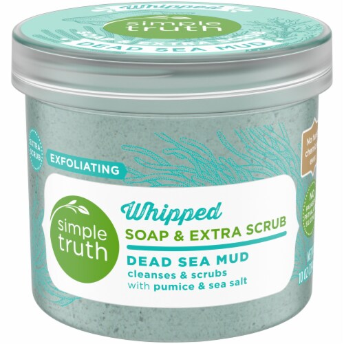 Simple Truth™ Dead Sea Mud Whipped Soap & Extra Scrub Perspective: front