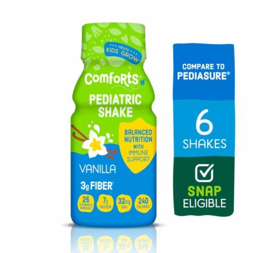 Comforts™ Vanilla Pediatric Shake with Fiber Perspective: front