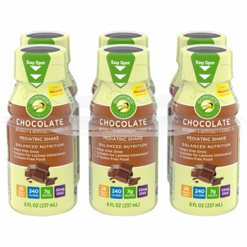 Comforts Chocolate Pediatric Shake Perspective: front