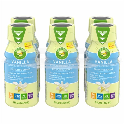 Comforts™ Vanilla Pediatric Drinks Perspective: front
