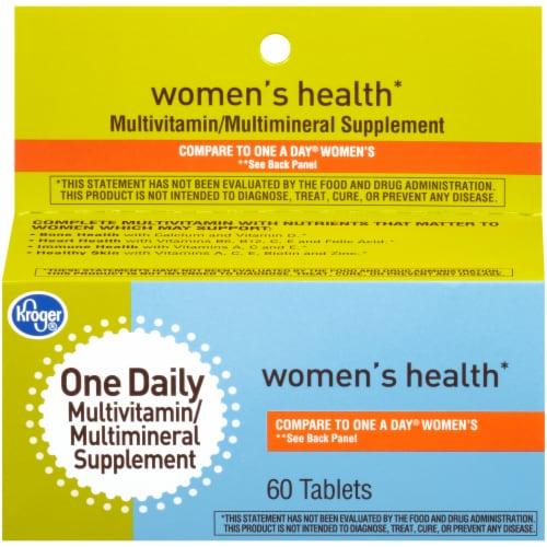 Kroger® Women's Multivitamin Tablets Perspective: front