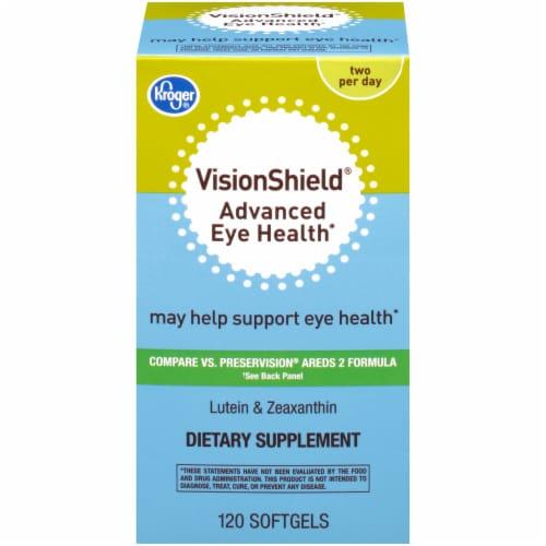 Kroger® VisionShield Advanced Eye Health Softgels Perspective: front