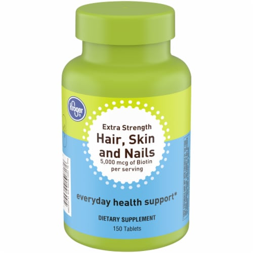 Kroger® Hair Skin and Nails Tablets Perspective: front