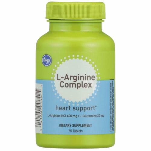 Kroger® L-Arginine Complex Heart Support Supplement Perspective: front