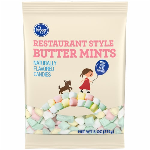 Kroger® Restaurant Style Butter Mints Perspective: front