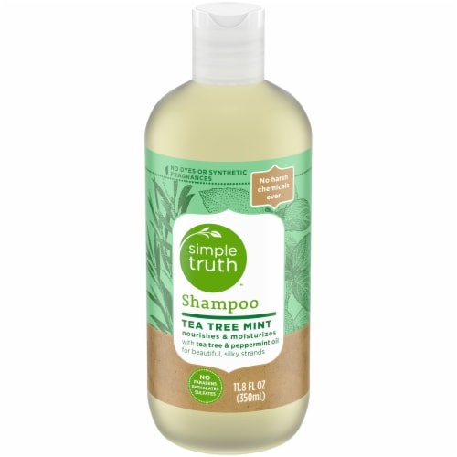 Simple Truth™ Tea Tree Mint Shampoo Perspective: front