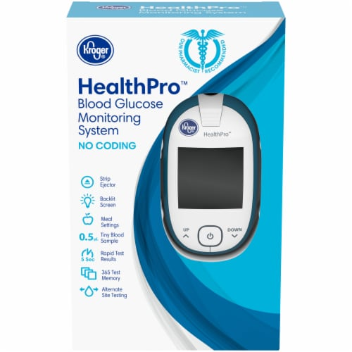 Kroger® HealthPro No Monitor System Perspective: front