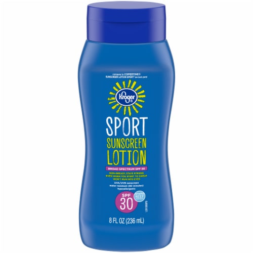 Kroger® Sport Broad Spectrum Sunscreen Lotion SPF 30 Perspective: front