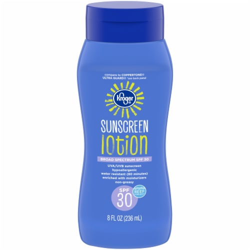 Kroger® Broad Spectrum Sunscreen Lotion SPF 30 Perspective: front