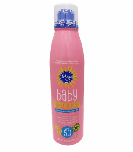 Kroger® Baby Broad Spectrum Spray Sunscreen SPF 50 Perspective: front