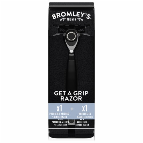 Bromley's for Men Get a Grip Razor Perspective: front
