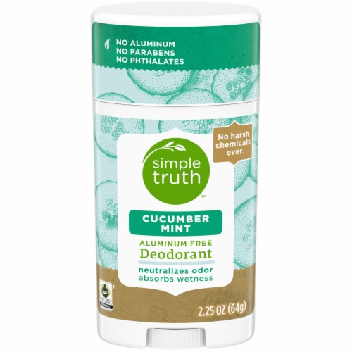 Simple Truth™ Cucumber Mint Deodorant Stick Perspective: front