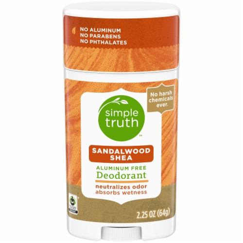 Simple Truth™ Sandalwood Shea Deodorant Stick Perspective: front