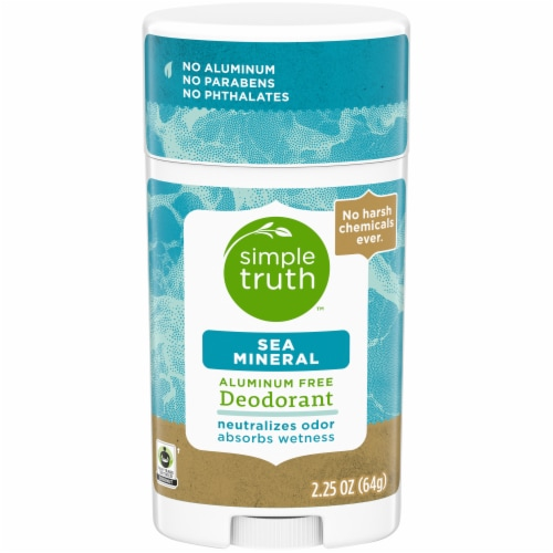 Simple Truth™ Sea Mineral Deodorant Stick Perspective: front