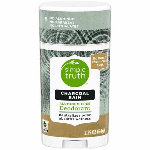 Simple Truth™ Charcoal Rain Deodorant Stick Perspective: front