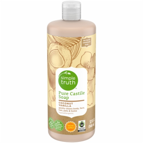 Simple Truth® Coconut Vanilla Pure Castille Soap Perspective: front