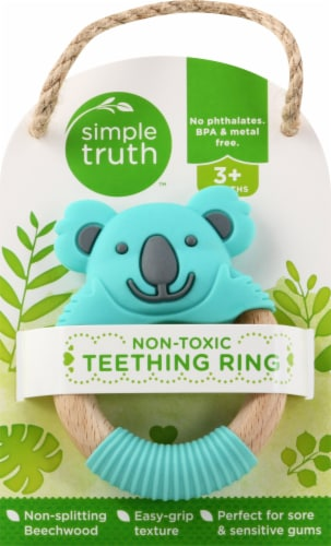 Simple Truth™ Teething Ring Perspective: front