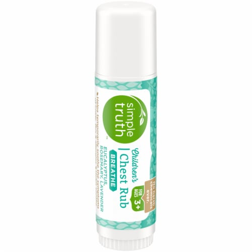 Simple Truth™ Breathe Children's Chest Rub Salve Stick Perspective: front