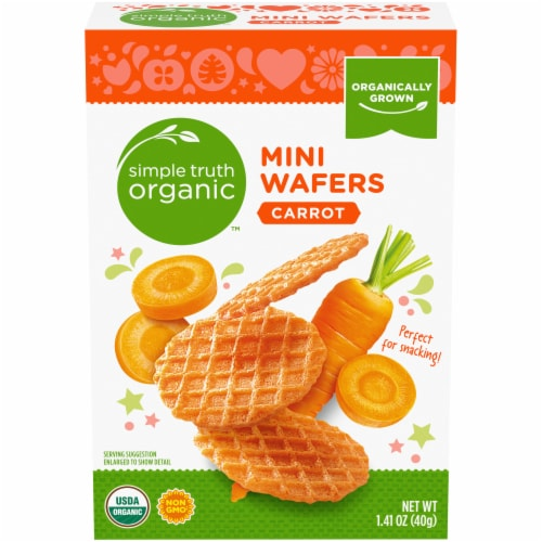 Simple Truth Organic™ Carrot Mini Wafers Perspective: front