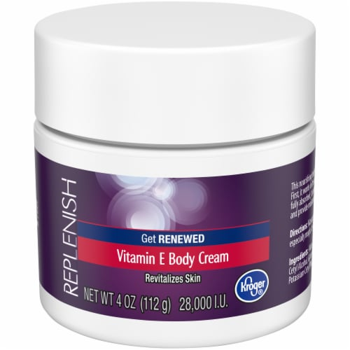 Kroger® Replenish Vitamin E Body Cream Perspective: front