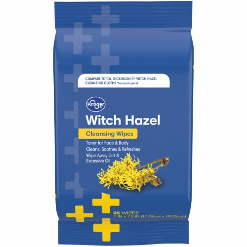 Kroger® Witch Hazel Cleansing Wipes Perspective: front