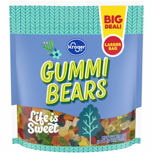 Kroger® Gummi Bears Pouch Perspective: front