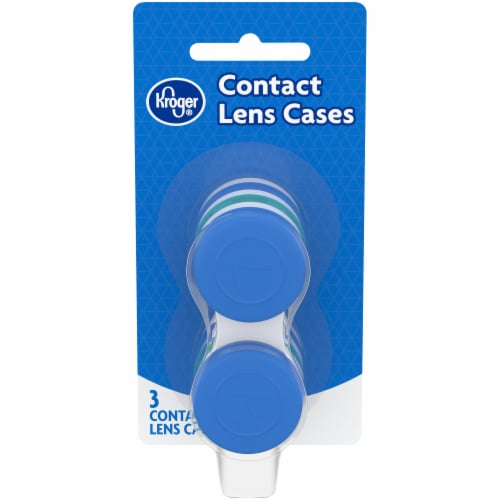 Kroger® Contact Lens Cases Perspective: front