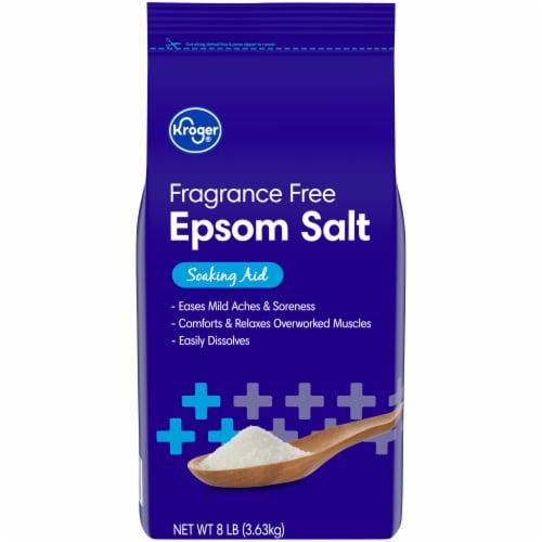 Kroger® Fragrance Free Epsom Salt Soaking Aid Perspective: front