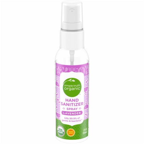 Simple Truth Organic™ Lavender Hand Sanitizer Spray Perspective: front