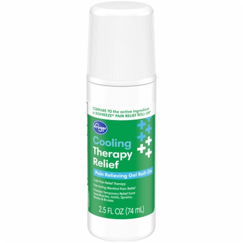 Kroger® Cooling Therapy Relief Pain Relieving Gell Roll-On Stick Perspective: front