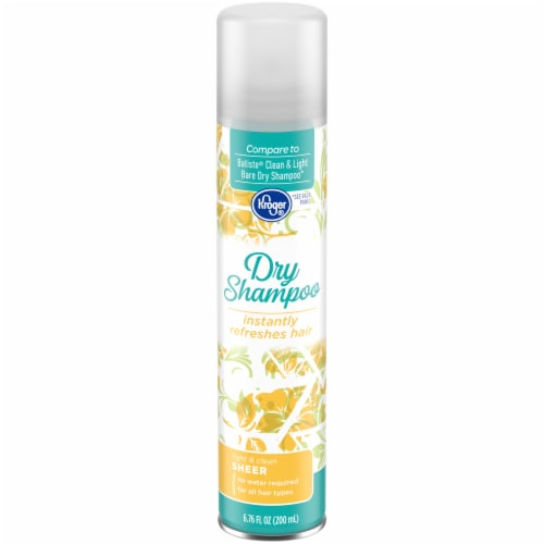 Kroger® Light & Clean Sheer Dry Shampoo Perspective: front
